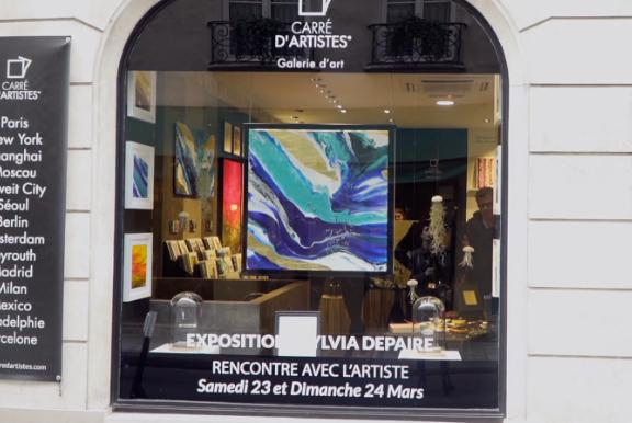 Paris - Saint Louis - Galerie Carré d'artistes