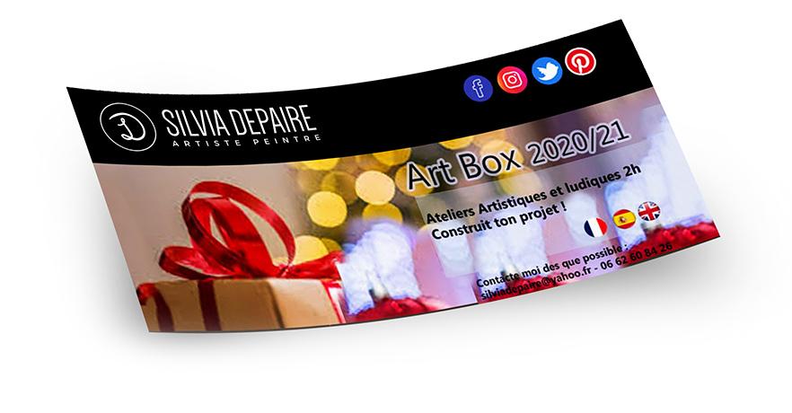 Bon cadeau - Art Box
